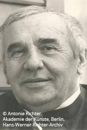Portrait von Richter, Hans Werner