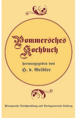 Pommersches Kochbuch