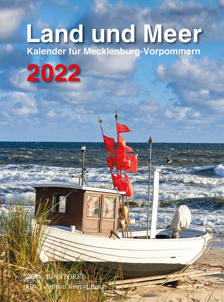 Land und Meer 2022. Kalender für Mecklenburg-Vorpommern