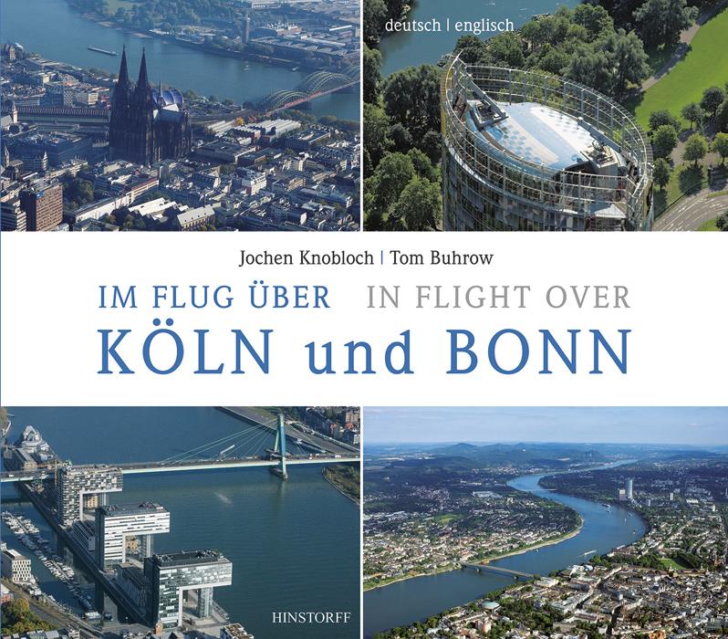 Im Flug über Köln und Bonn