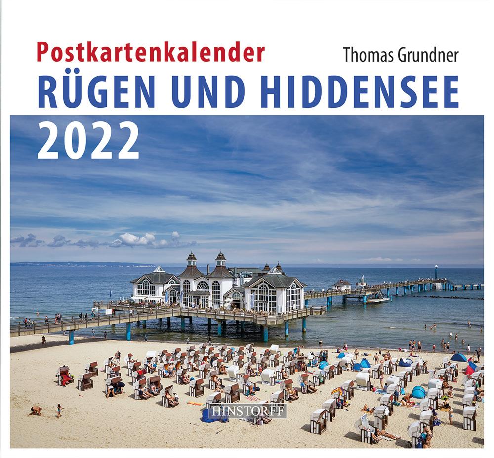 Postkartenkalender Rügen und Hiddensee 2022