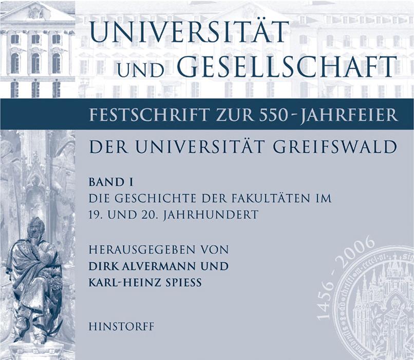 Universität und Gesellschaft, Band 1