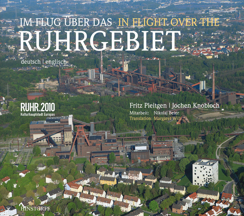Im Flug über das Ruhrgebiet