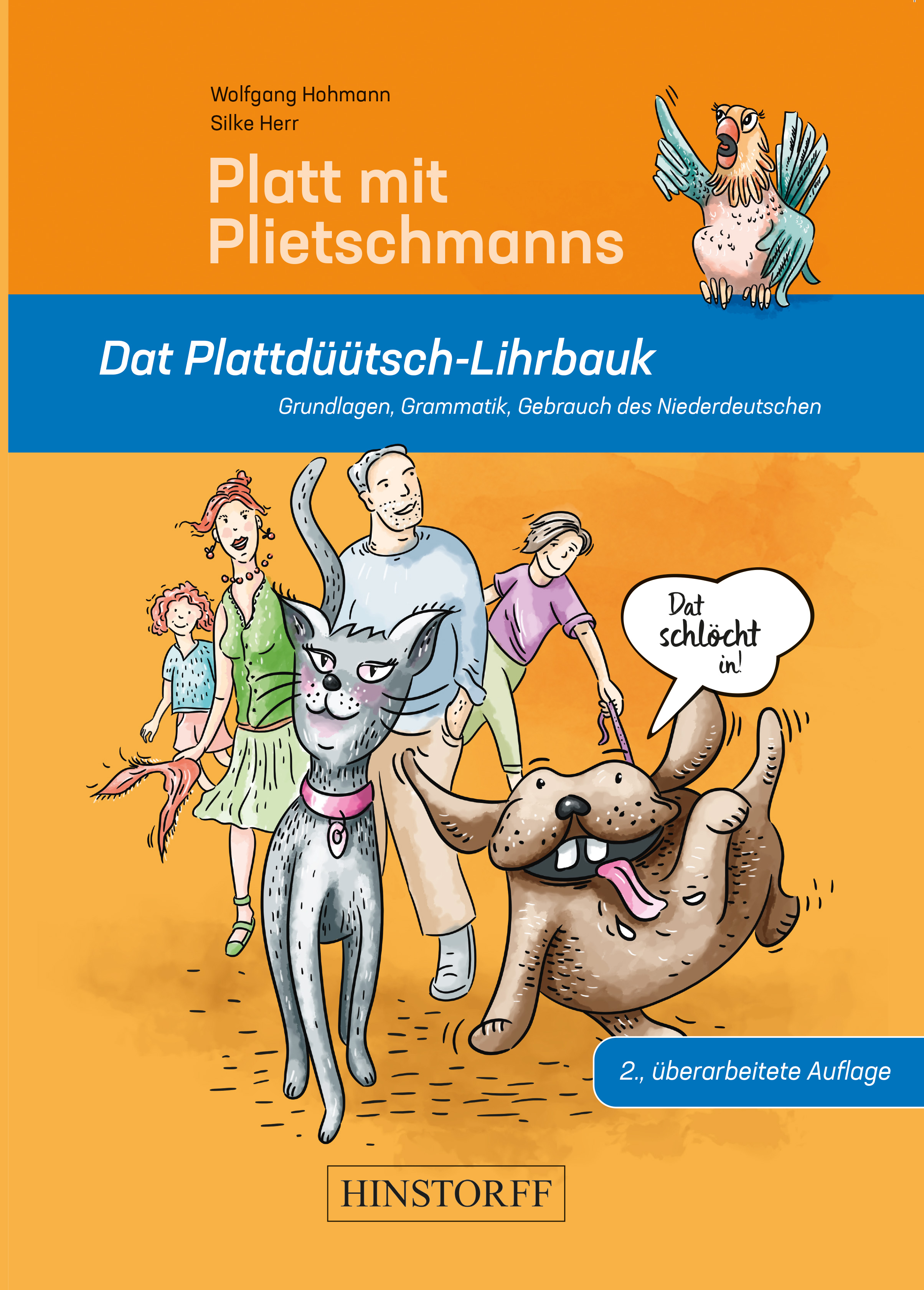 Platt mit Plietschmanns. Dat Plattdüütsch-Lihrbauk