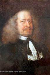 Portrait von Olearius, Adam